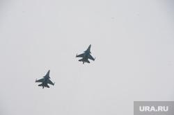 Празднование Дня Победы. Челябинск, самолеты, су34