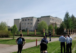 Стрельба у гимназии 175 в Казани. Казань, казань, школа 175, гимназия 175