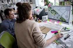 Архитектурная студия «ROCK» Екатеринбург, работа в офисе, архитектурная студия rock