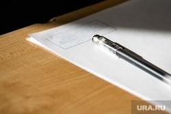 Акция «День сдачи ЕГЭ с родителями» в школе  №43. Екатеринбург, ручка, егэ, экзамен, единый государственный экзамен