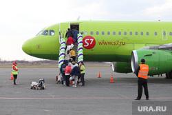 Первый рейс из Сочи. Курган, аэропорт, авиарейс, пассажиры, самолет, S7 Airlines
