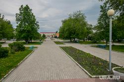 Виды города. Шадринск , пешеходная зона, сквер победы, город шадринск