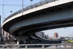 Виды Санкт-Петербурга. Санкт-Петербург, мост, эстакада, дорога, набережная обводного канала, автомобильная развязка