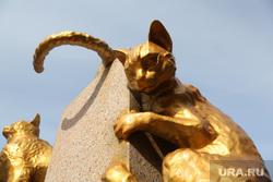 Сквер сибирских кошек. Тюмень, кошка, кот, скульптура, сквер сибирских кошек