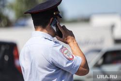 Обрушение надземного перехода на трассе Челябинск -Курган. Курган, полицейский, рация, телефонный разговор, полиция