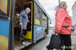 Виды Перми, остановка, автобус
