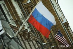 Виды, здания, министерства. Москва, сша, россия, флаг сша, флаг, флаг россии, флаг россии и сша, флаг америки
