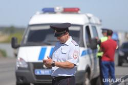 Обрушение надземного перехода на трассе Челябинск -Курган. Курган, штраф, протокол, полиция, гибдд, дпс