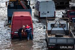 Подтопленная улица Шефская. Екатеринбург, затопленная улица, потоп, подтопление, улица шефская