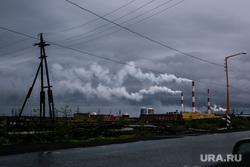 Рабочая поездка Дмитрия Кобылкина в Норильск. Норильск, дым, смог, катастрофа, экология, кайеркан, норильская тэц-3, вредные выбросы, вредное производство