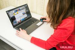 Клипарт Популярные интернет-сервисы. Тюмень, ноутбук, покупка одежды, покупка, работа за компьютером, работа на ноутбуке, девушка за ноутбуком