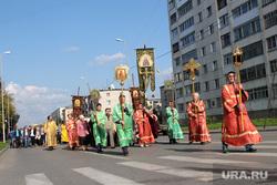 Крестный ход в честь праздника обретения Мощей Петра и Февронии Курган, крестный ход