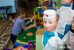 Рабочий визит губернатора ХМАО Натальи Комаровой в село Угут, Сургутский район., детский сад, медицина, здоровье детей