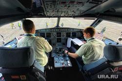Первый рейс из Сочи. Курган, кабина пилота, пилот, самолет, пилот экипажа, командир корабля, S7 Airlines