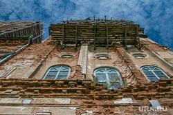 Спасо-Преображенский храм в селе Батурино, строительные леса, спасо-преображенский храм, ремонт церкви