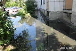 Жилой дом Карельцева 119. Курган, улица каральцева119, прорыв канализации