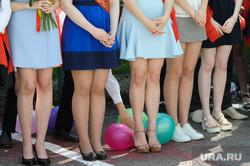 Последний звонок Лицей 10 Челябинск, ноги, девушки, выпускники