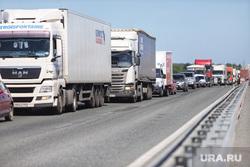 Обрушение надземного перехода на трассе Челябинск -Курган. Курган, пробка, автомобильная пробка, трасса челябинск курган