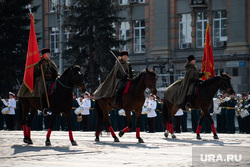 Парад, посвященный 76-й годовщине Победы в Великой Отечественной войне. Екатеринбург, лошади, казаки, парад победы 9мая, парад победы