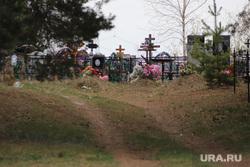 Кладбище Рябково. Курган, могилы, кладбище