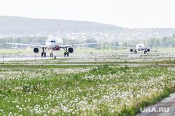 Самолёт Аэрофлота в ливрее Добролета. Екатеринбург, самолет, авиаперевозки