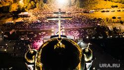 Богослужение у Храма на Крови перед крестным ходом в Царские дни. Екатеринбург, храм на крови, крестный ход