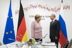Ангела Меркель, bundeskanzlerin.de, флаг германии, флаг евросоюза, российский флаг, меркель ангела, путин владимир, флаг россии, флаг рф
