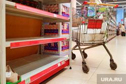 Торговые центры. Курган, торговый центр, продукты, сахар, пустые полки, дефицит, тц, магазин, дефицит товара