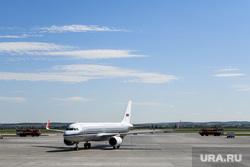 Самолёт Аэрофлота в ливрее Добролета. Екатеринбург, авиакомпания аэрофлот