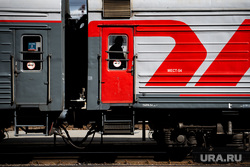 Исторический эшелон «Поезд идет на восток» на железнодорожной станции «Екатеринбург-пассажирский». Екатеринбург, железнодорожная платформа, ржд, жд вокзал, железная дорога, поезд, поезд, вагон поезда
