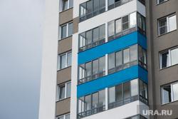 Пресс-тур в Академический. Екатеринбург, балкон, жилые дома