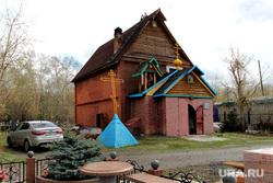 Рябковское кладбище Православная церковь Курган, православная церковь, храм святой троицы, лжецерковь, варух, церковь варуха