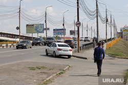Городские рынки. Курган, пешеход, некрасовский мост, лето в городе