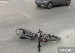 ДТП с велосипедом. Челябинск, велосипед, происшествие, дтп, авария, дорога