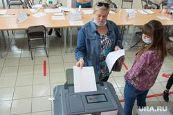 Единый день голосования. Магнитогорск, коиб, бюллетени, избирательный участок, выборы 2020