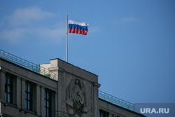 Красная площадь. Москва, госдума, государственная дума, российский флаг, триколор, флаг россии, москва