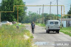 Поселок Нагорный Деревенская ОПГ Челябинск, уаз, ковбой, газификация