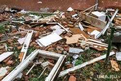 Взрыв на улице 50 лет ВЛКСМ. Тюмень, строительный мусор, взрыв газа
