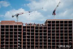 Виды Екатеринбурга, недвижимость, строительные работы, башенные краны, стройка