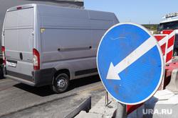 Обрушение надземного перехода на трассе Челябинск -Курган. Курган, объезд на дороге