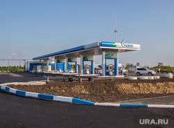 Открытие газовой заправки Газпрома при участии председателя совета директоров Виктора Зубкова. Курган, газпром, газовая заправка