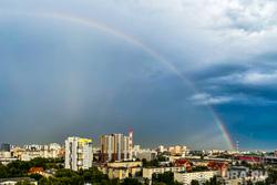 Радуга. Челябинск, радуга, погода, небо, лето, природа, климат, экология