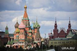 Здания. Москва, кремль, кремлевская стена, виды города, собор василия блаженного, москва, москва