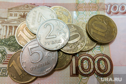 Клипарт. Деньги. Челябинск, монеты, рубли, мелочь, деньги