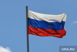 Визит Евгения Куйвашева в Нижнюю Туру, российский флаг, триколор, флаг россии, символ власти, государственный символ