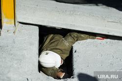 XI Международные горноспасательные соревнования. Свердловская область, Берёзовский, человек, травма, рабочий, бетонная плита