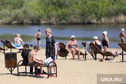 Пляж Бабьи пески. Курган, отпуск, пляж бабьи пески, лето, река тобол, отдых на воде, жара, пляжный песок