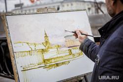 Виды Екатеринбурга, художник