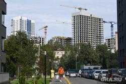 Виды Екатеринбурга, высотка, новостройка, жилые дома, новый дом, город, строительство