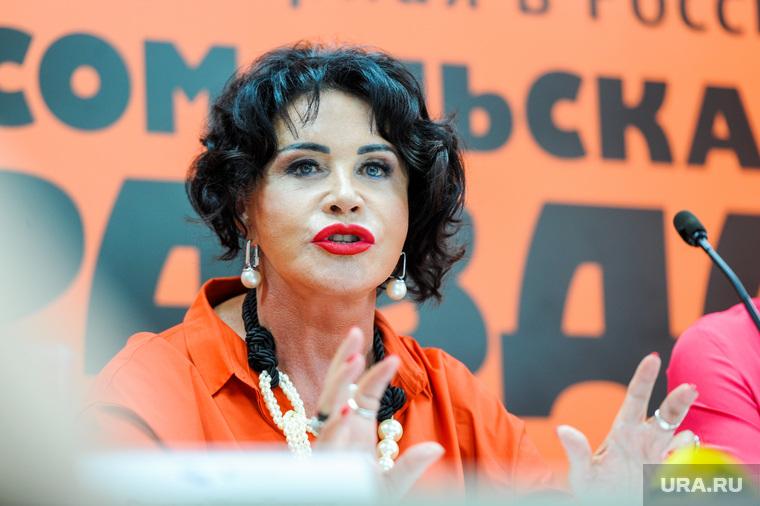 Пресс-конференция Надежды Бабкиной. Челябинск